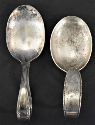 (2) Silver Baby Spoons
