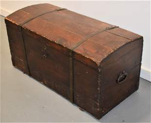 19th Century Continental Immigrants Trunk