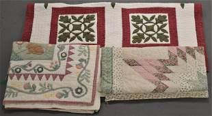 Lot 3 Modern Quilts