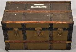 Early 20th Century Flat top Dolls Trunk