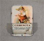 Ceresota Advertising Tin Match Safe