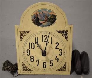 19th Century Austrian Wall Clock