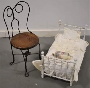 Lot (2) Children's Furniture Items