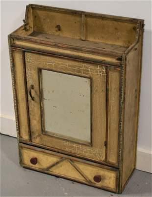 Small Adirondack Style Wall Cabinet