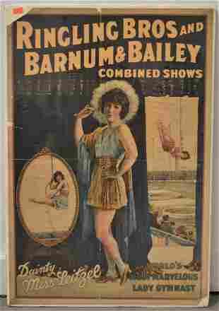 Ringling Bros. Circus Show Poster