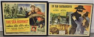 (2) Vintage Colored Movie Posters