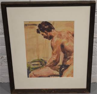 Wolfson Watercolor Painting