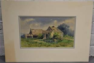 F.E. Norton Watercolor Painting