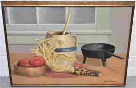 Marcia Rawlings Oil Painting