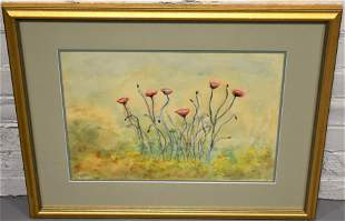 Marcia Beaumont Floral Watercolor Painting