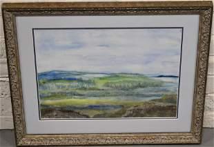 Marcia Beaumont Landscape Watercolor Painting