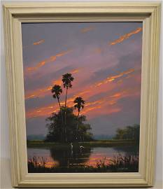 Harold Newton Florida Highwayman Painting