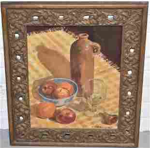 Earl Nutting Still Life Oil Painting