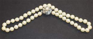 """16"""" Strand of Culture Pearls"""
