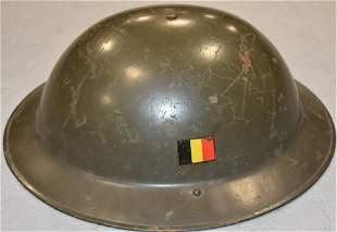 WW2 Belgian Military Helmet