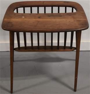Arthur Umanoff Magazine Rack Side Table
