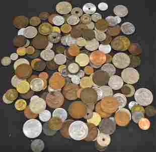 161 Foreign Coins