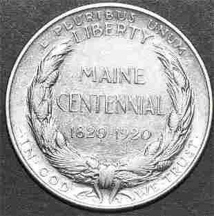 1920 U.S. Silver Commemorative Half Dollar