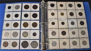 Album of 119 Foreign Coins