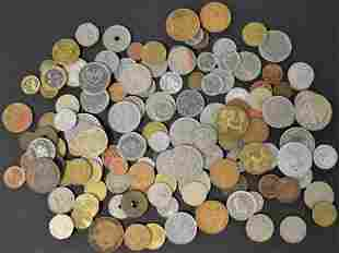 130 Foreign Coins