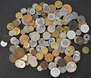 140 Misc. Foreign Coins