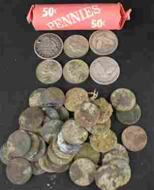 Misc Lot Of Coins