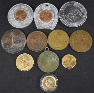11 Misc. Tokens, Coins, Medals, Medallions