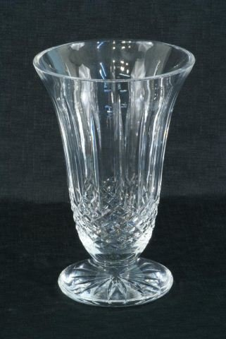 10A: LARGE CUT CRYSTAL WATERFORD VASE