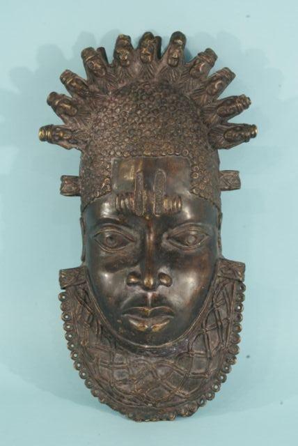 9: NIGERIAN BRONZE MASK