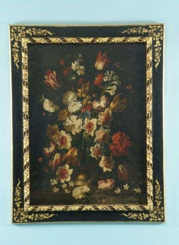 12: DUTCH STYLE FLORAL PAINTING