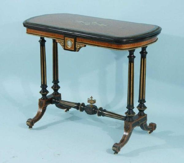 22: NAPOLEON III GAME TABLE, CIRCA 1850