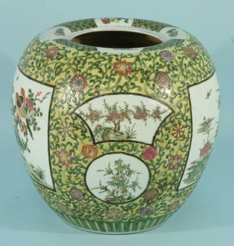 10: PAIR OF CHINESE EXPORT PORCELAIN VASES - 2
