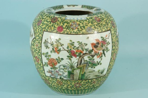 10: PAIR OF CHINESE EXPORT PORCELAIN VASES - 3