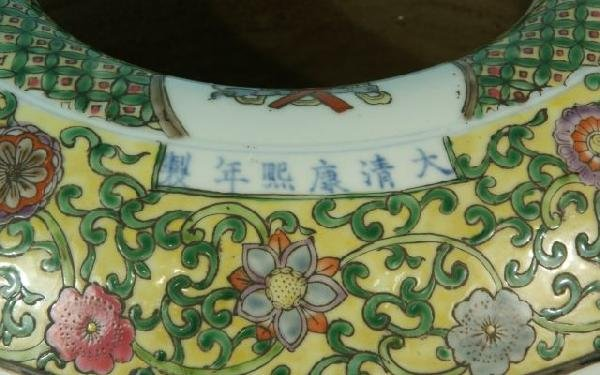 10: PAIR OF CHINESE EXPORT PORCELAIN VASES - 4