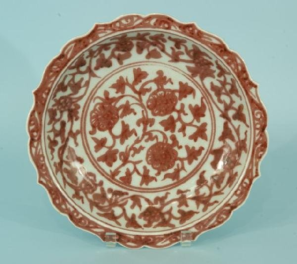 7: CHINESE EXPORT PORCELAIN CHARGER
