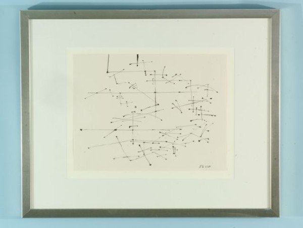 """59B: ATTRIBUTED TO DAVID SMITH """"UNTITLED COMPOSITION"""""""