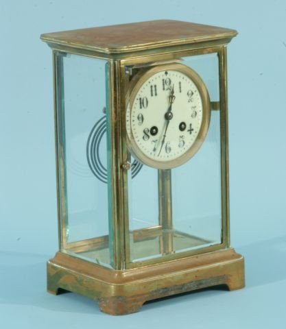 6: 19th CENTURY FRENCH MANTEL CARRIAGE CLOCK