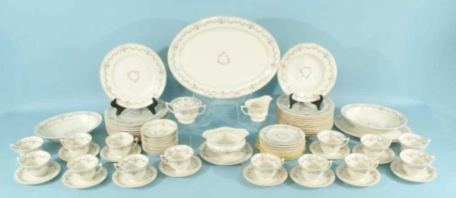 """2: 81-PIECE SET OF """"OLD IVORY"""" CHINA BY SYRACUSE"""