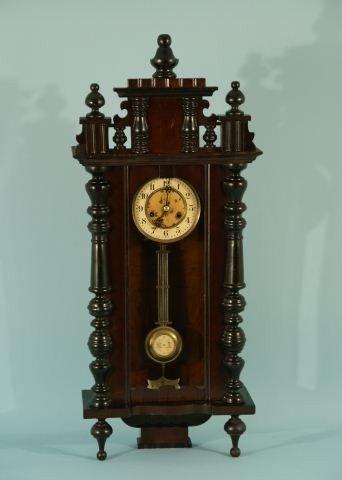 1: MAHOGANY CLOCK