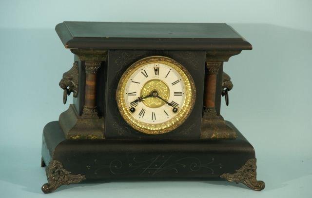 2: AMERICAN MANTEL CLOCK BY E.N. WELCH MFG. COMPANY