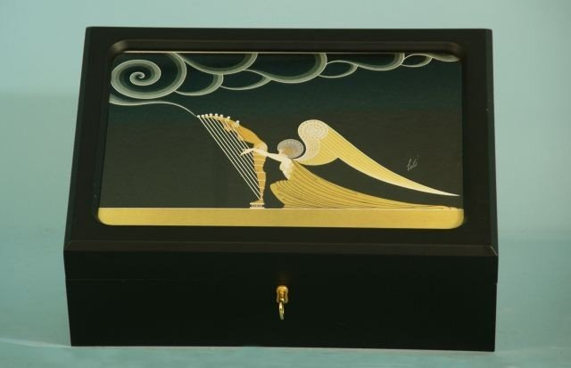 6: LIMITED EDITION HUMIDOR BY ERTE
