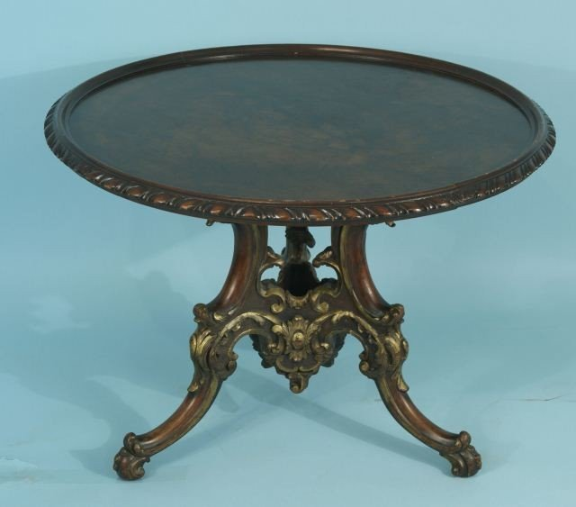 10: CIRCA 1900 ITALIAN HAND CARVED LOW TABLE