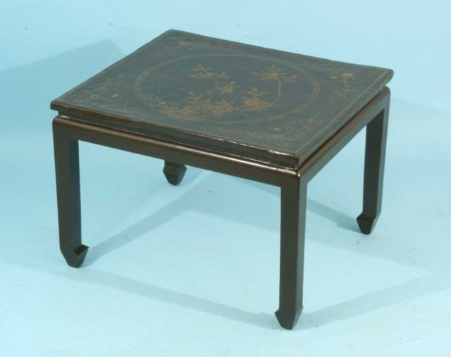 11: 17th/18th CENTURY BROWN LACQUER COFFEE TABLE