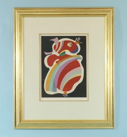 """100: WASSILY KANDINSKY """"POP ART"""" LITHOGRAPH, #190/200"""