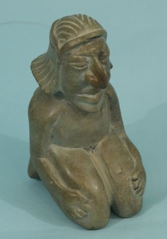 3: PRE-COLUMBIAN MEXICAN HARDSTONE CARVING