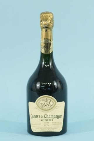 17: BOTTLE OF COMTES DE CHAMPAGNE FROM FRANCE
