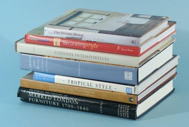 1: LOT OF SEVEN BOOKS