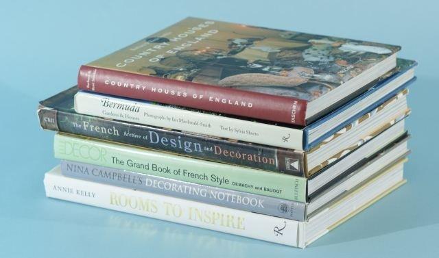4: LOT OF SIX BOOKS