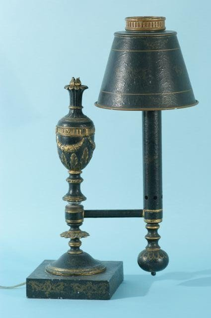 14: REPRODUCTION STUDENT TOLE LAMP