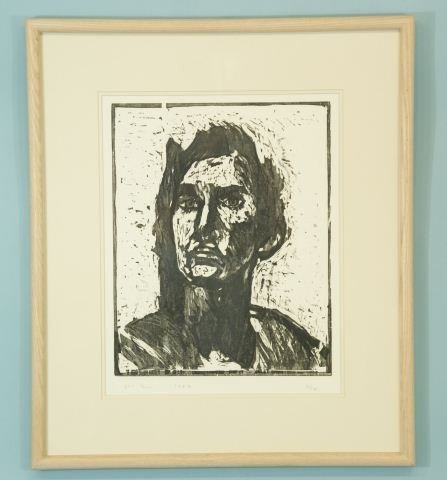 "12: BLAKE SUMMERS""UNTITLED PORTRAIT"" LITHOGRAPH #3/17"
